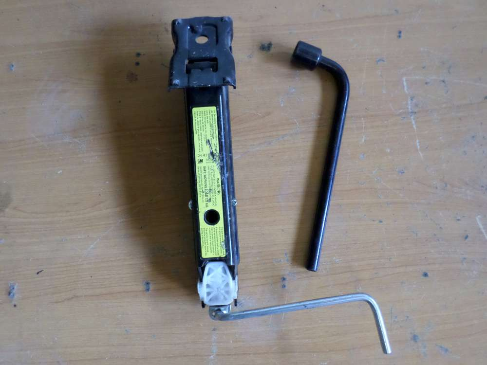 Original Opel Corsa  Bordwerkzeug Wagenheber Schlüssel Werkzeug