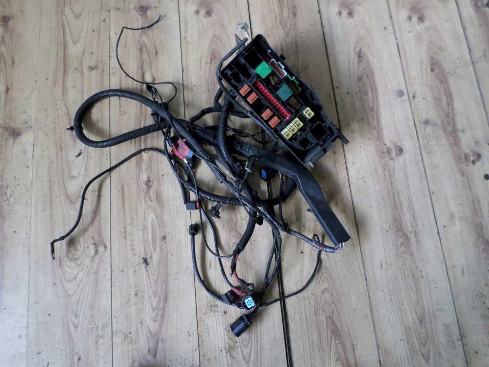 Ford Fiesta IV Sicherungskasten Relaiskasten mit kabelbaum 96FG14A481AB