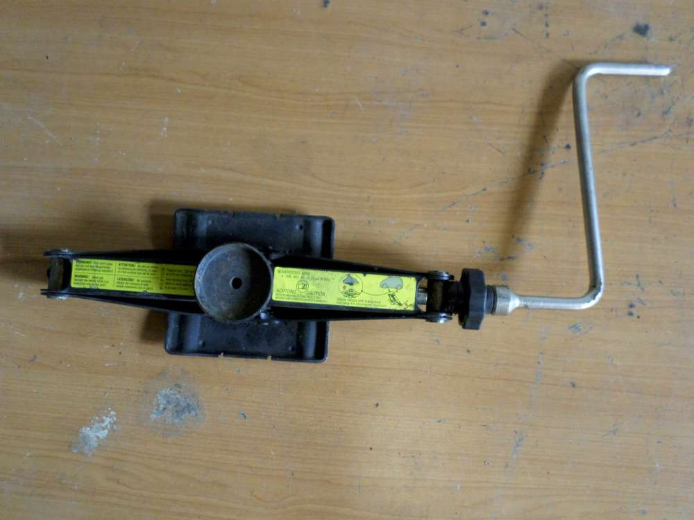Original Mercedes A-Class Genuine  Tool Kit Jack Wheel Brace Part A 1685830415