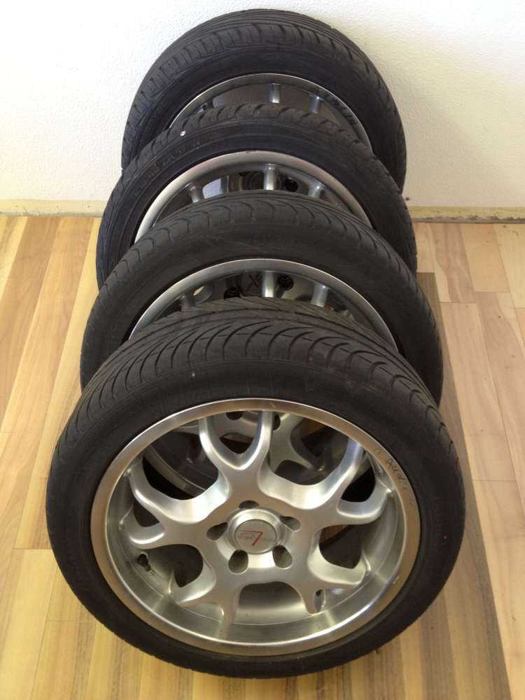 Alufelgen Audi KBA 44417. 7Jx17H2. ET 38. 5 Loch.70738N.215.45 R17 91W /XL