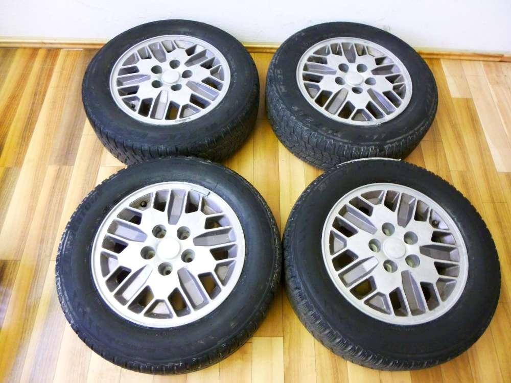 4 Kompletträder Alufelgen Winterreifen für Chrysler Voyager 15x6J  195/65 R15 91H