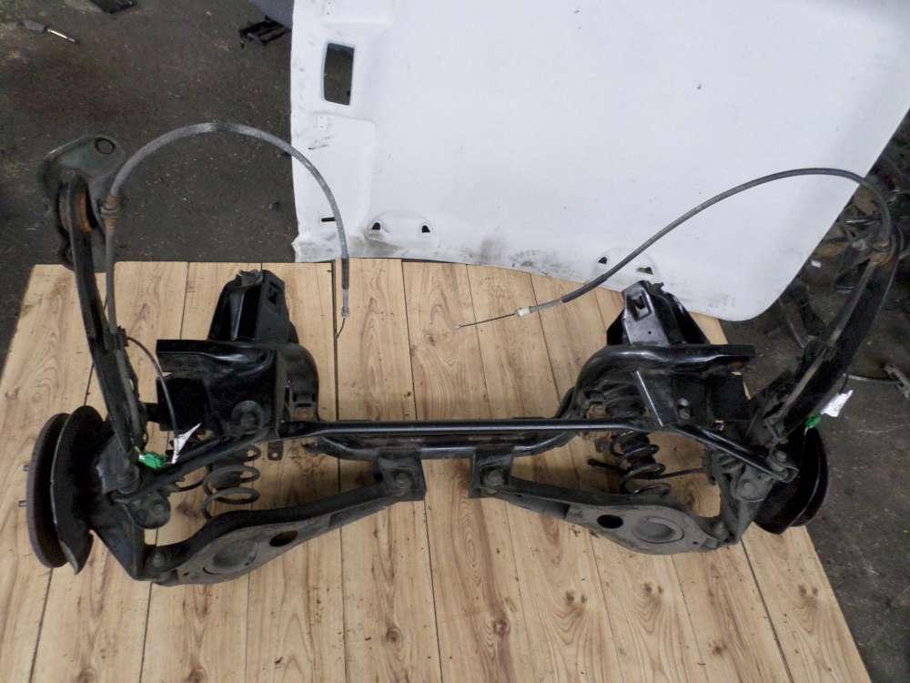 Hinterachse Ford Mondeo Bj.2007 Achse hinten Trommelbremse komplett