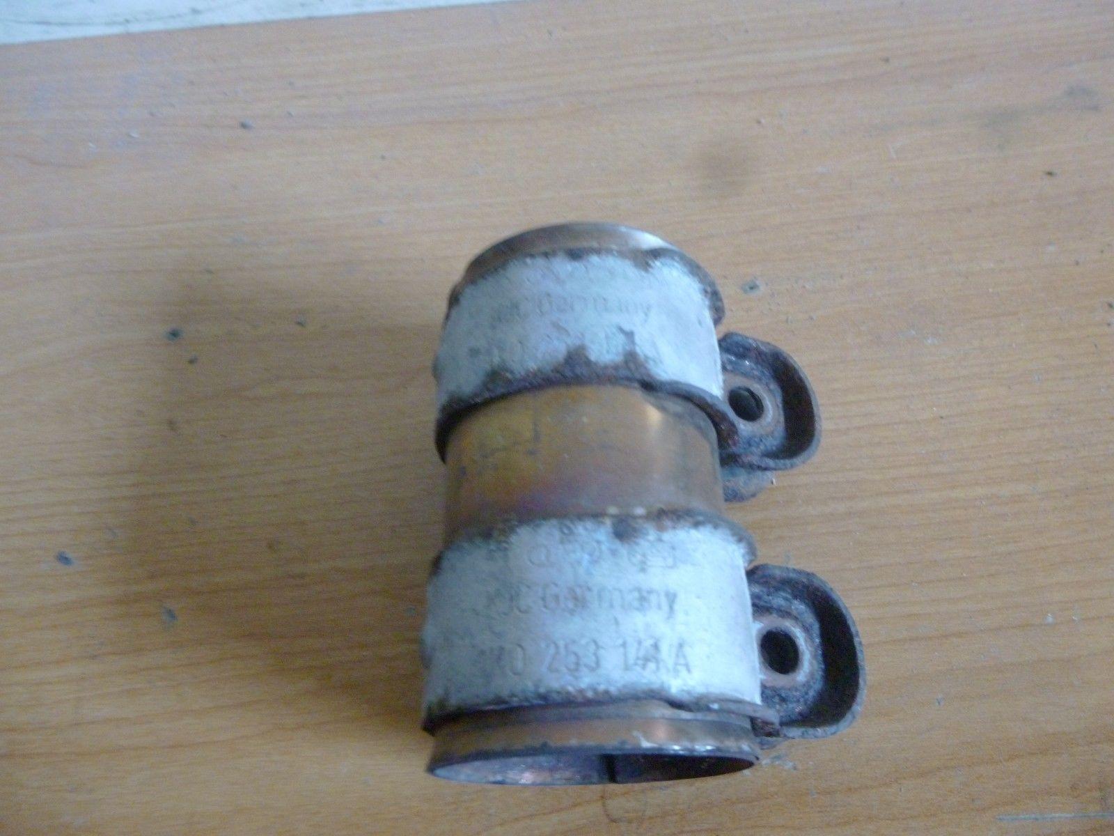 VW Touran Bj:2004 BWA Doppelschelle Schelle Rohrverbinder 1K0253141A