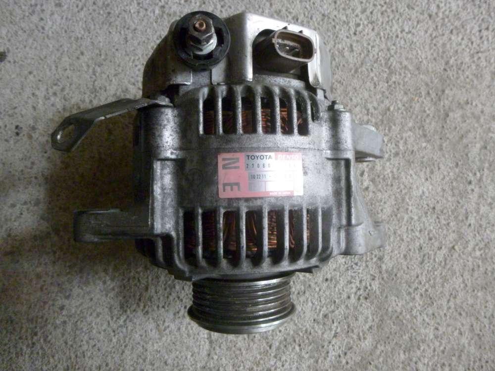 TOYOTA YARIS VERso BJ:2004 1.4 D-4D 1ND Lichtmaschine 27060-33040