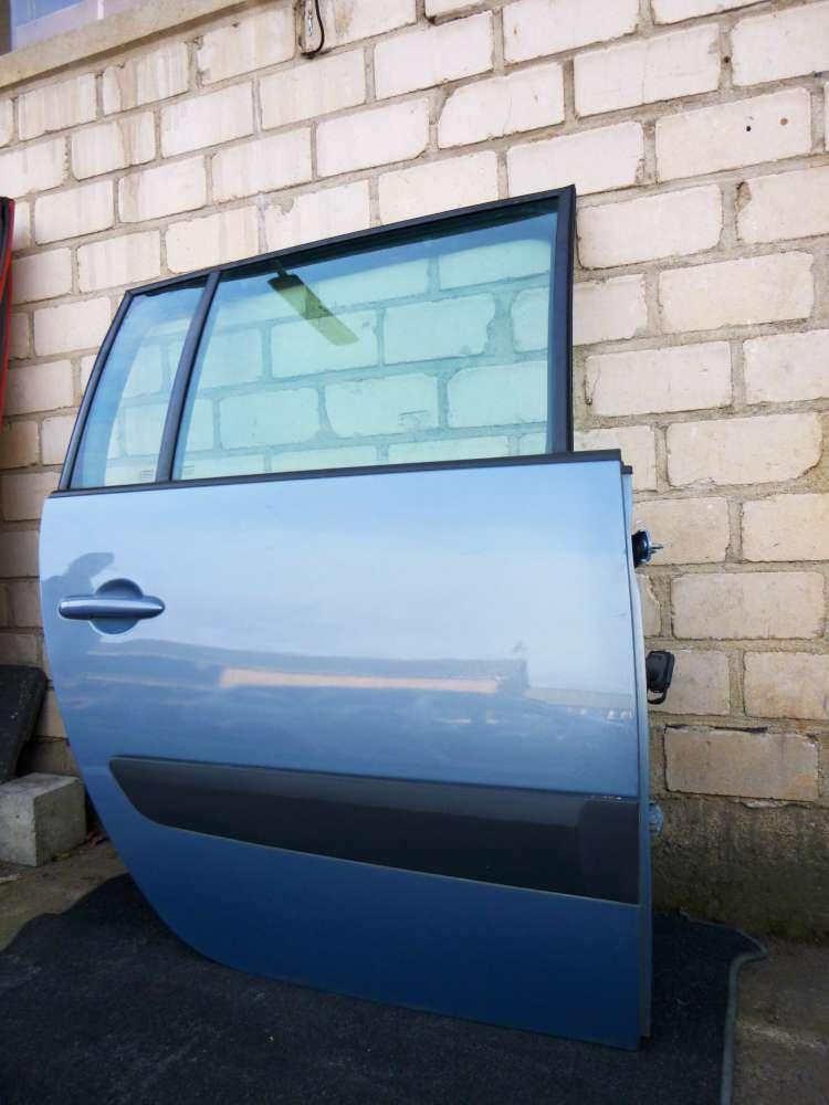 Renault Espace IV Tür Hinten Rechts Hellblau Farbcode : TED47