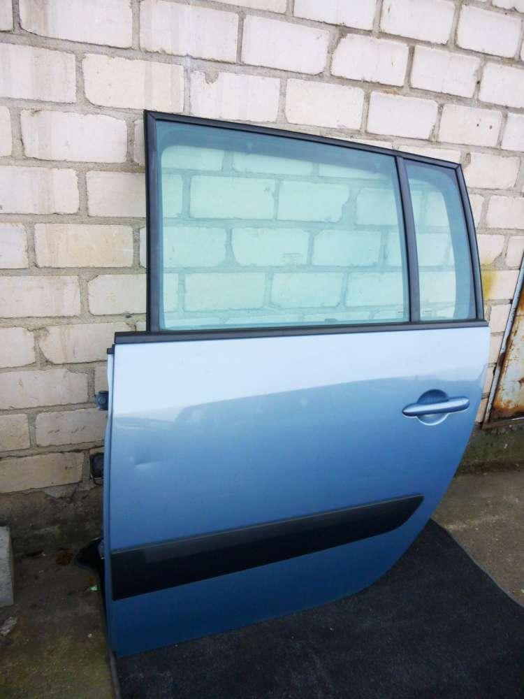 Renault Espace IV Tür Hinten Links Hellblau Farbcode : TED47