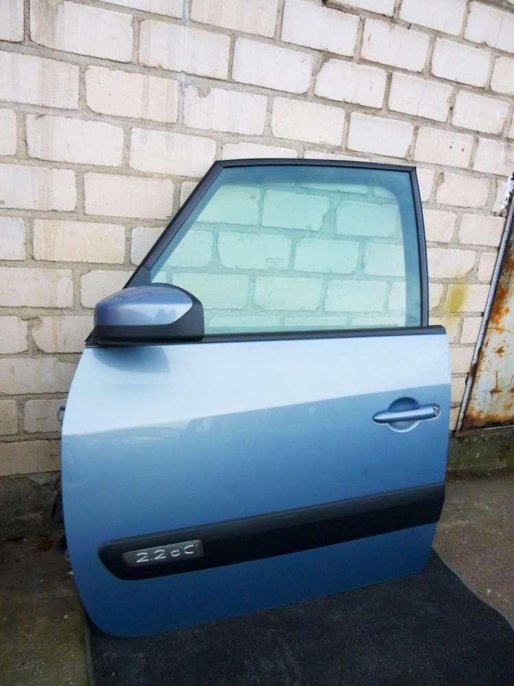 Renault Espace IV Tür Vorne Links Farbecode TED47 Hellblau