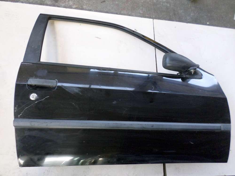 Peugeot 306 Bj 1994 3 Türen Beifahrertür Tür Farbe: Schwarz