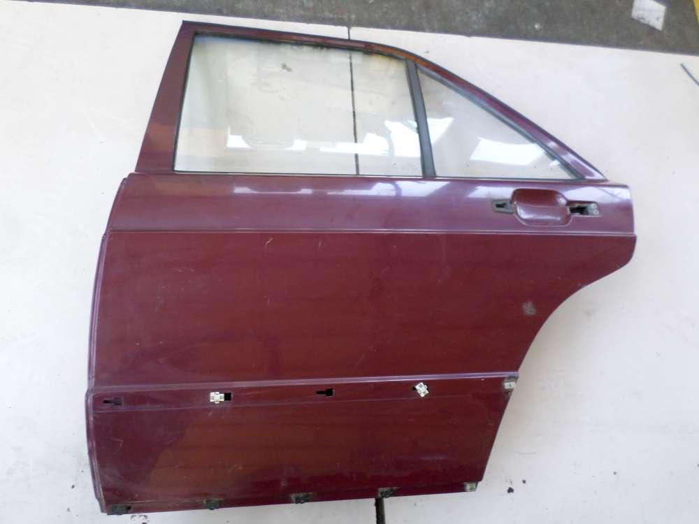 Mercedes Benz 190E W201 von 1982 -1993 Tür Hinten Links Farbe: Rot