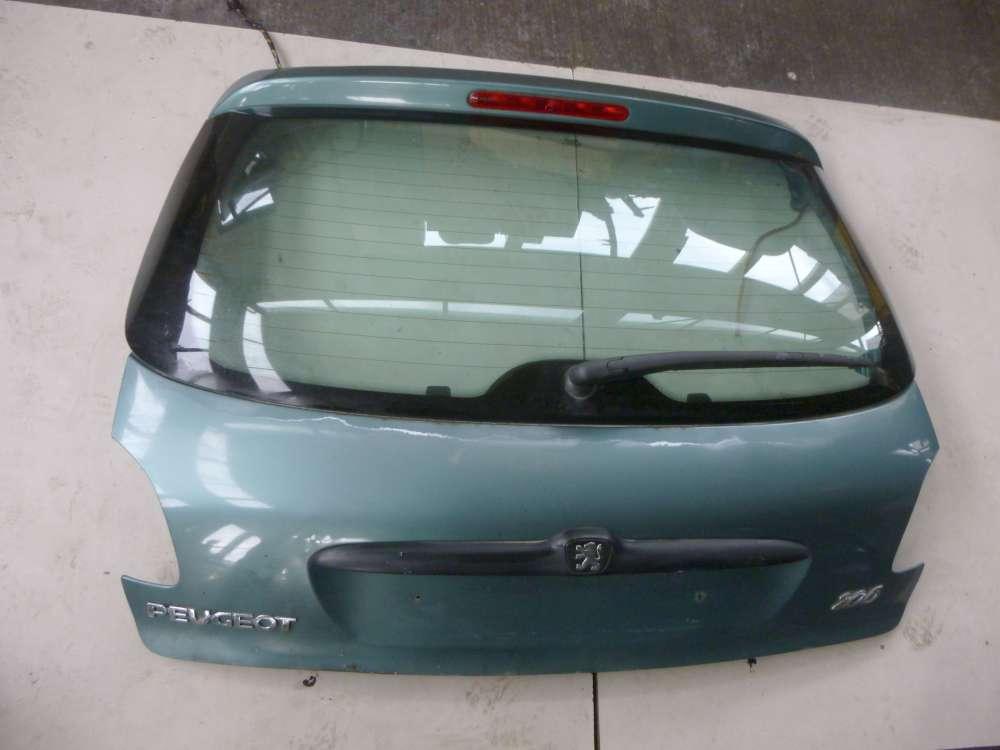 Peugeot 206 2A/C Bj 1998 Heckklappe Hellgrün