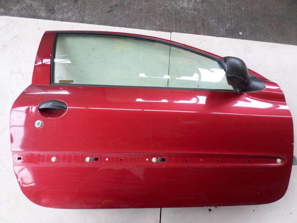 Peugeot 206 Bj 1999 Beifahrertür Tür vorne rechts Farbe: Rotbraun