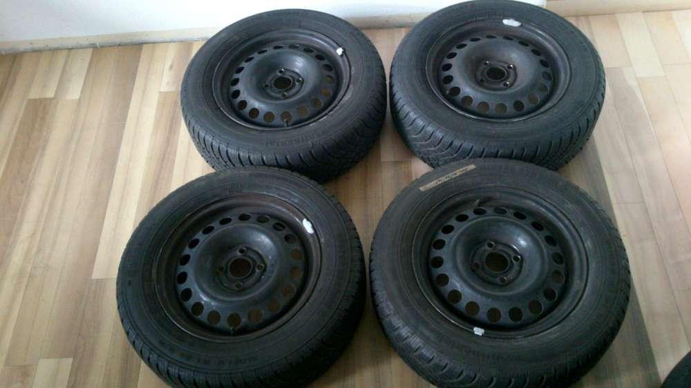 4 x Kompletträder Opel Astra Winterreifen 6Jx15H2 ET49 Reifen :195 /65 R15 91T .