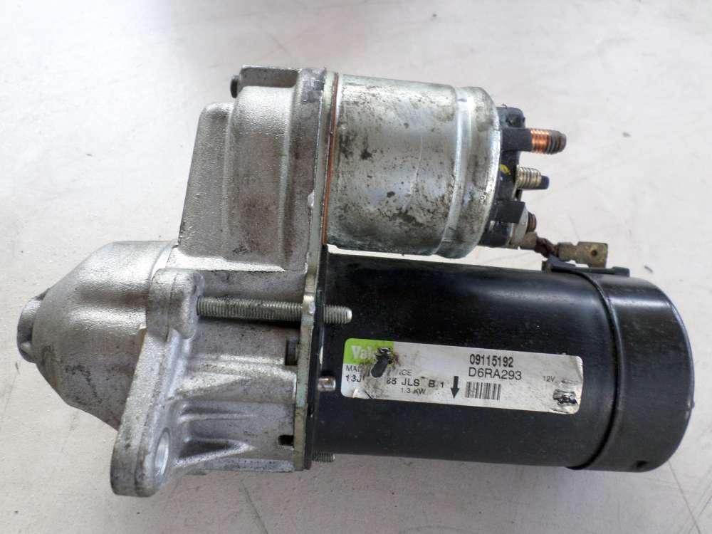 Anlasser  Opel Corsa C Bj. 2005 1,2 Benzin 59kW 80PS D6RA293 09115192