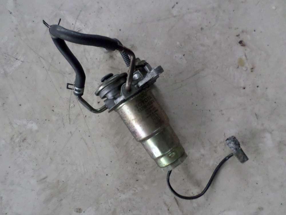 Toyota YARIS VERSO Bj.04 Original Handpumpe Kraftstofffilter Kraftstofffiltergehäuse 2339033010