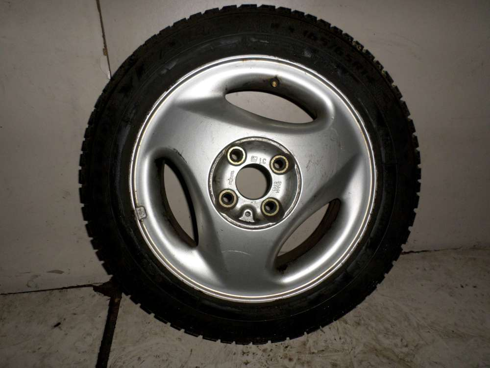 1x Alufelge Original für Opel Corsa B 5,5Jx14 LK 4x100 ET:49 165/65 R14 79T