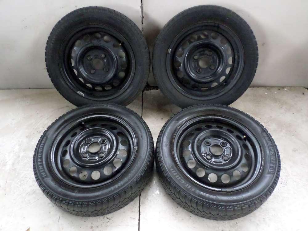 4x Winterreifen Stahlfelgen Suzuki WagonR+, Opel Agila Mini-Van ET45 4.5Jx14CH 165/ 60 R14 89 T 4 loch