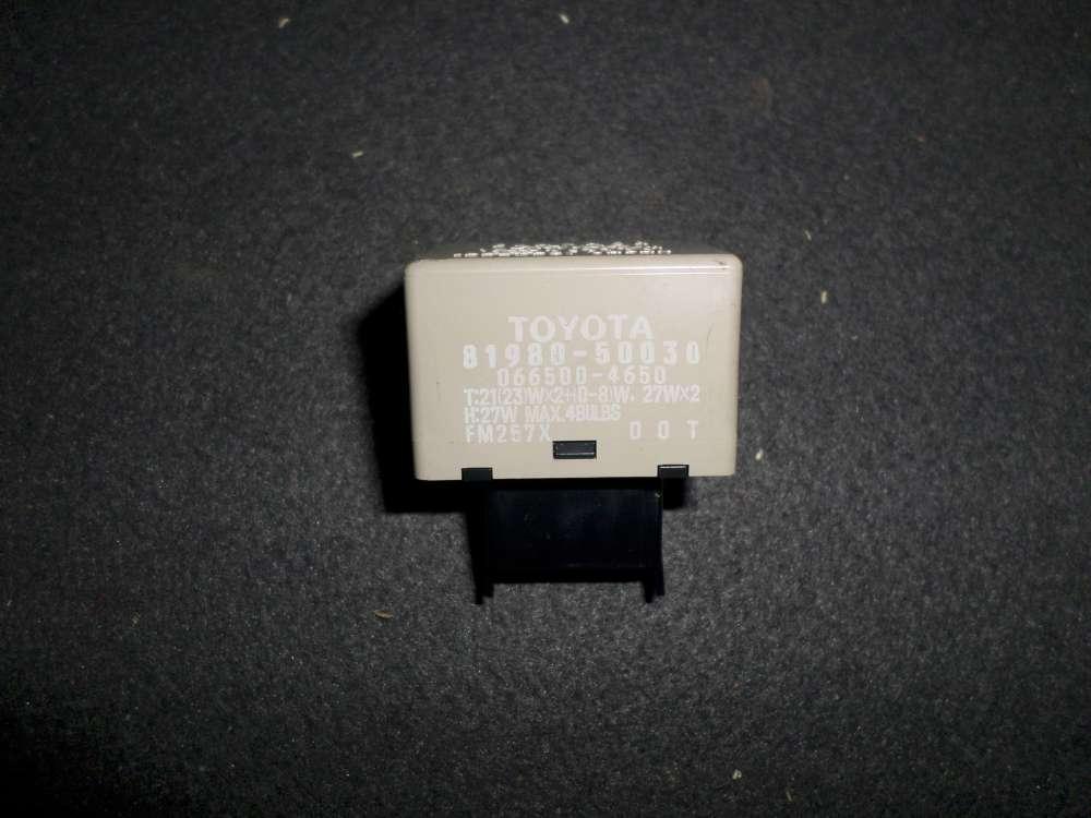 Original Toyota Yaris Verso Relais Blinker Blinkgeber 81980-50030