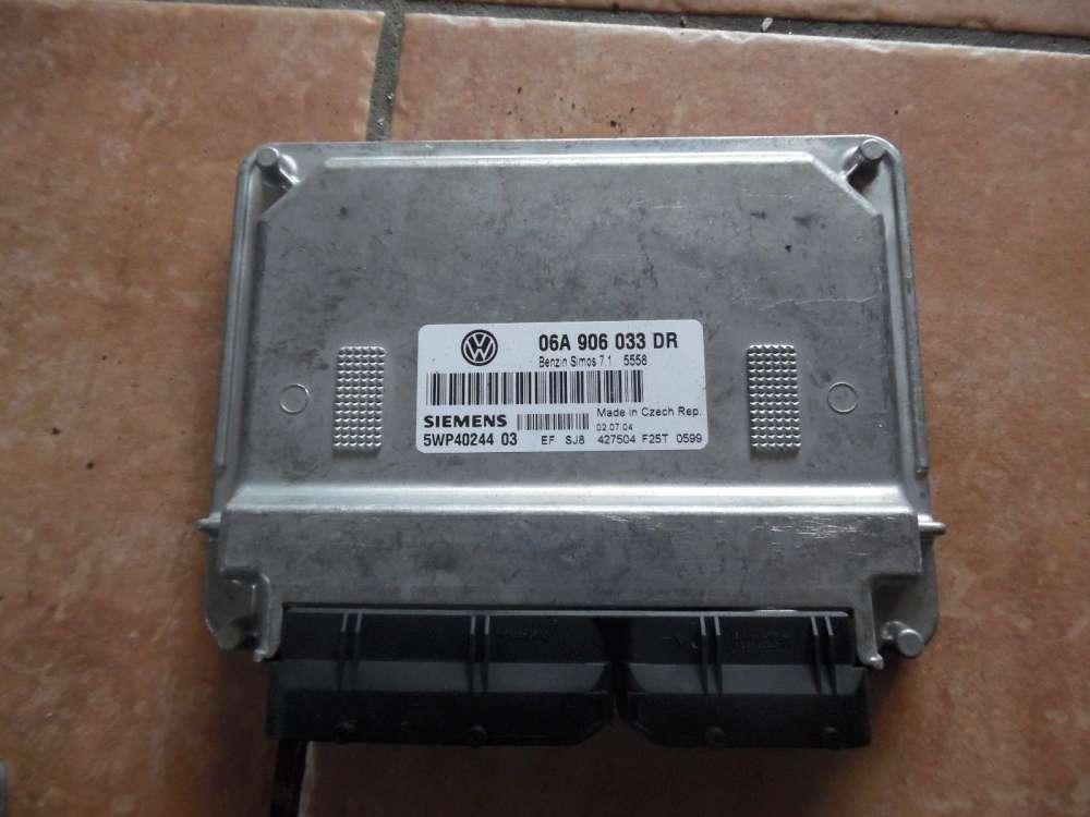 Original VW Golf 4 Bj 1999 Motorsteuergerät Siemens Steuergerät 06A906033 DR
