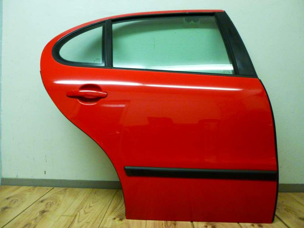 Seat Leon 1M Bj 2001 Tür Hinten Rechts Rot Farbcode: LP3G