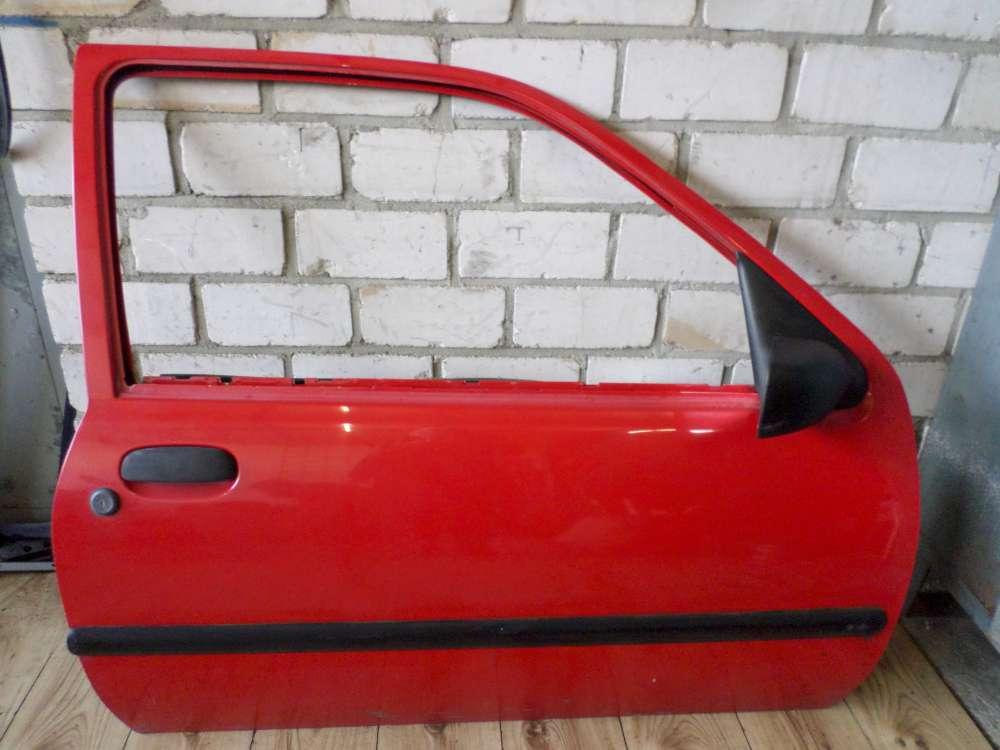 Mazda 121 III JASM JBSM 3-Türen Tür Vorne Rechts Rot